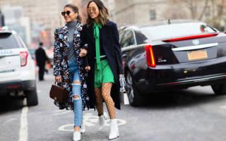Модные луки осень-зима 2018-2019: фото образов