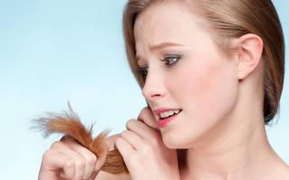 Как восстановить сильно сухие кончики волос