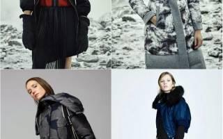 Женские куртки осень-зима 2018-2019