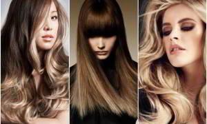 Виды окрашивания волос