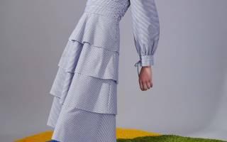 Модные платья осень-зима 2018-2019