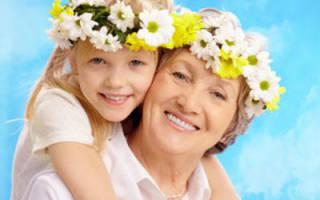 Стихи к 8 марта бабушке