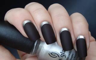 Черный маникюр: дизайн ногтей