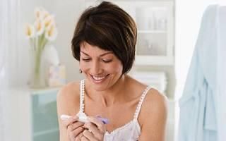 Положительный тест на беременность: фото