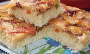 Рецепты для двухсторонней сковороды: Яблочная «Шарлотка» с цукатами