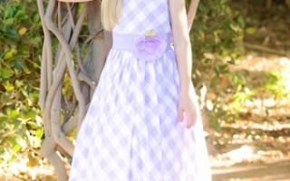 Красивые платья для девочек