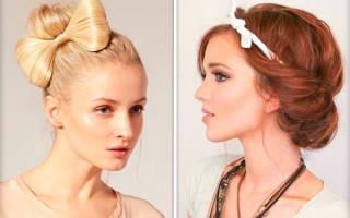 Как сделать красивую и легкую прическу самой себе