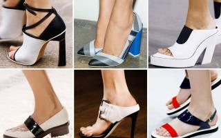 Модная женская летняя обувь 2018 года