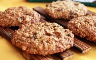 Полезные овсяные печенья всего из 2 ингредиентов — проще некуда!