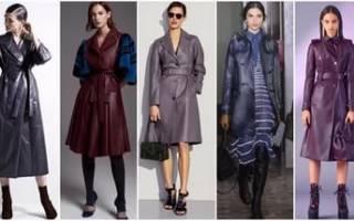 Модные пальто осень-зима 2018-2019