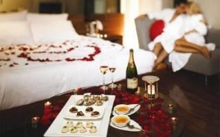 Как подготовиться к романтическому вечеру дома