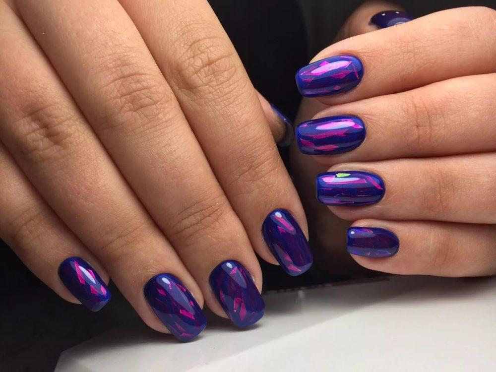 Фото ногти шеллак дизайн 2017-2018 на короткие ногти