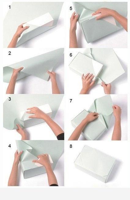 Правильно упаковать подарок