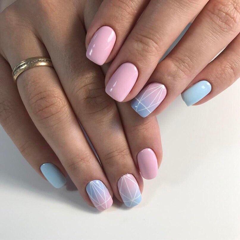 Модный маникюр 2018 фото на короткие и длинные ногти