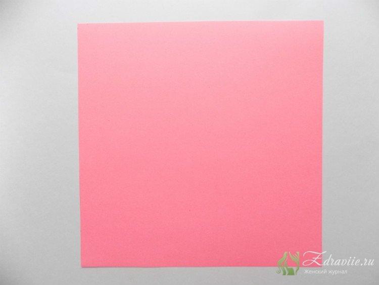 вырезаем 3 квадрата размером 21х21 см