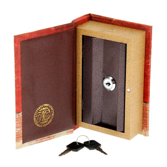 подарок мужу - книга сейф