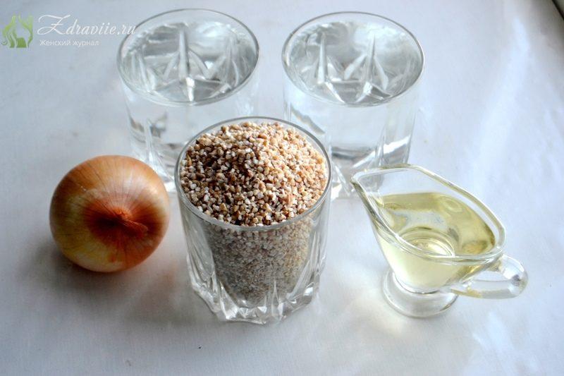 Ингредиенты для ячневой каши