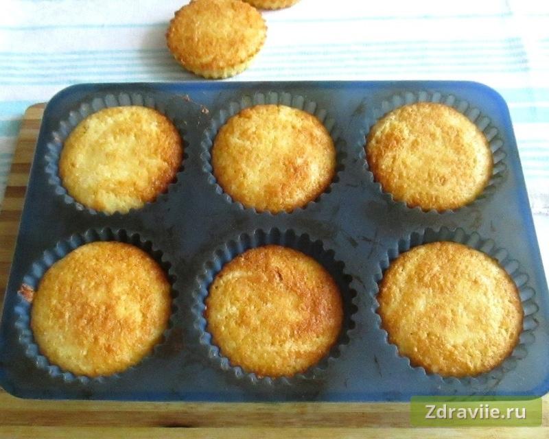Кексы на кефире с манкой рецепты пошагово