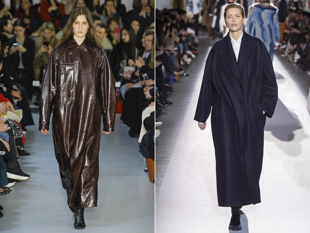 Осеннее длинное пальто: стиль сезона