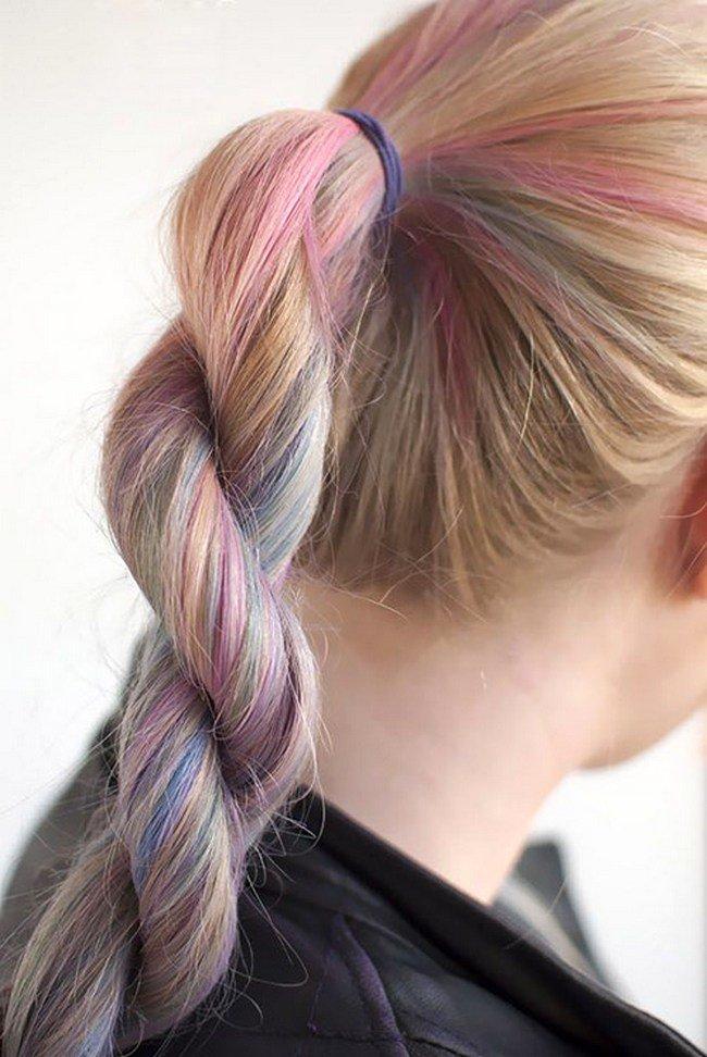 фото косы на длинные волосы 2