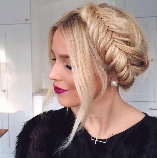 фото косы на длинные волосы 4