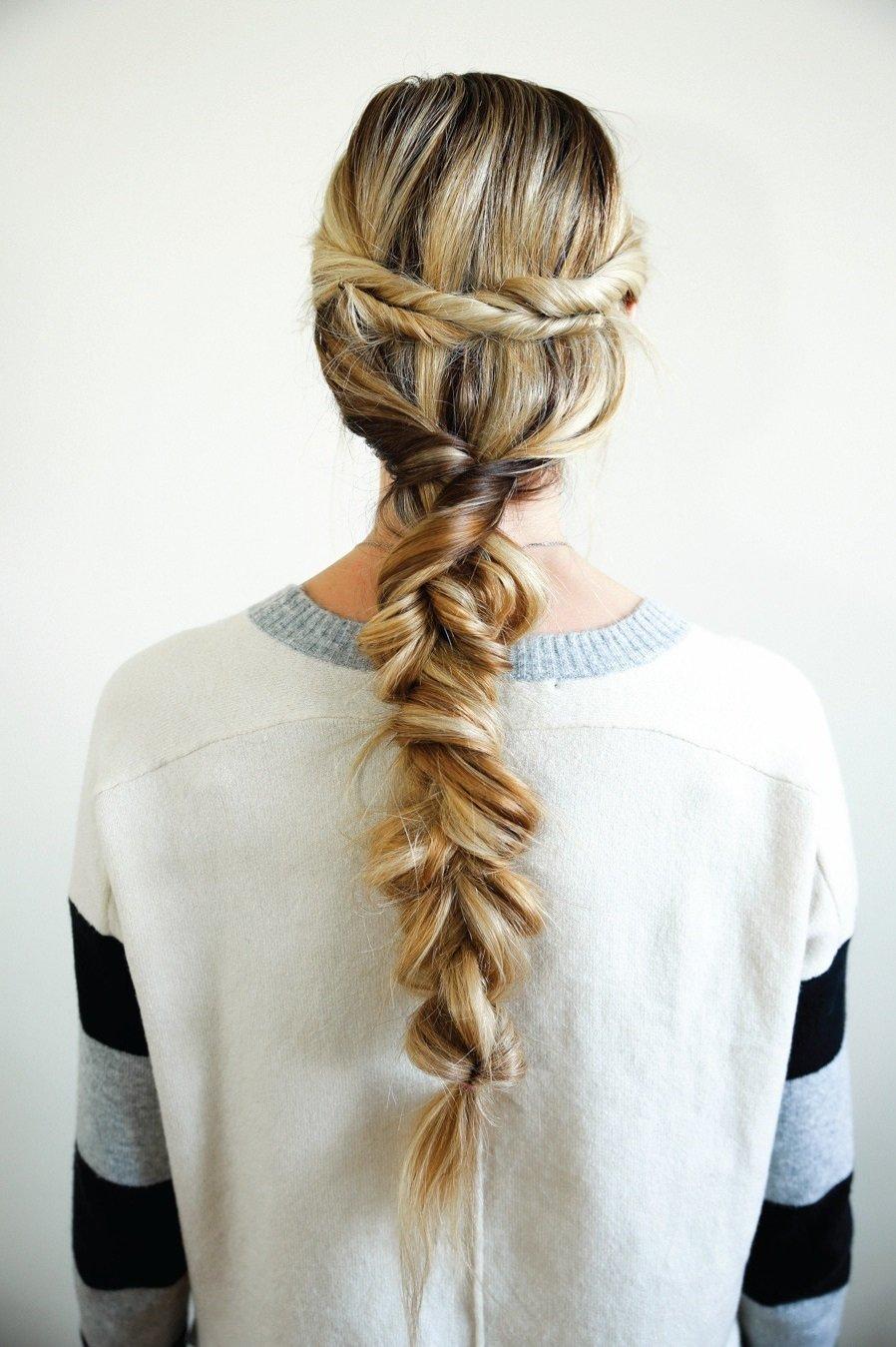 фото косы на длинные волосы 6