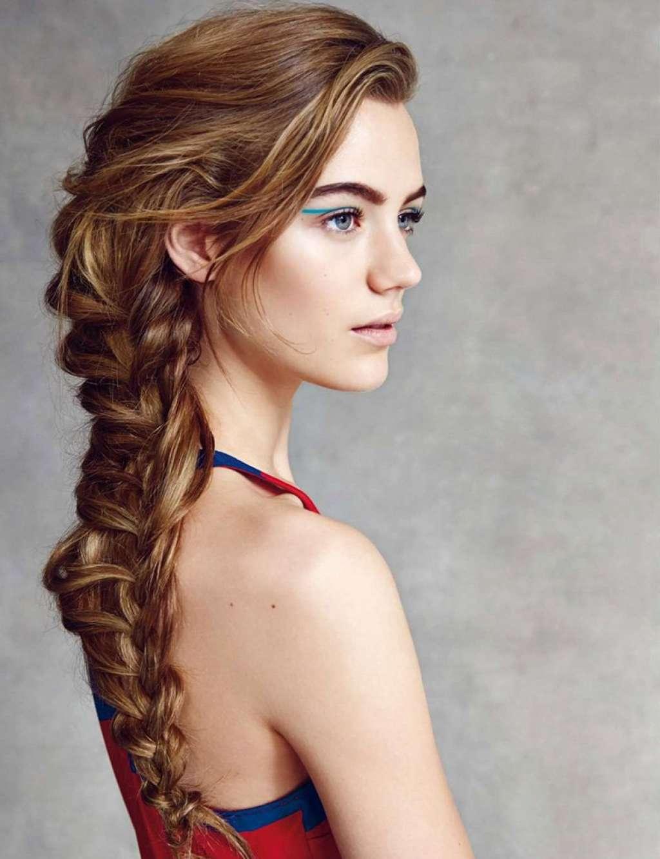 фото косы на длинные волосы 8