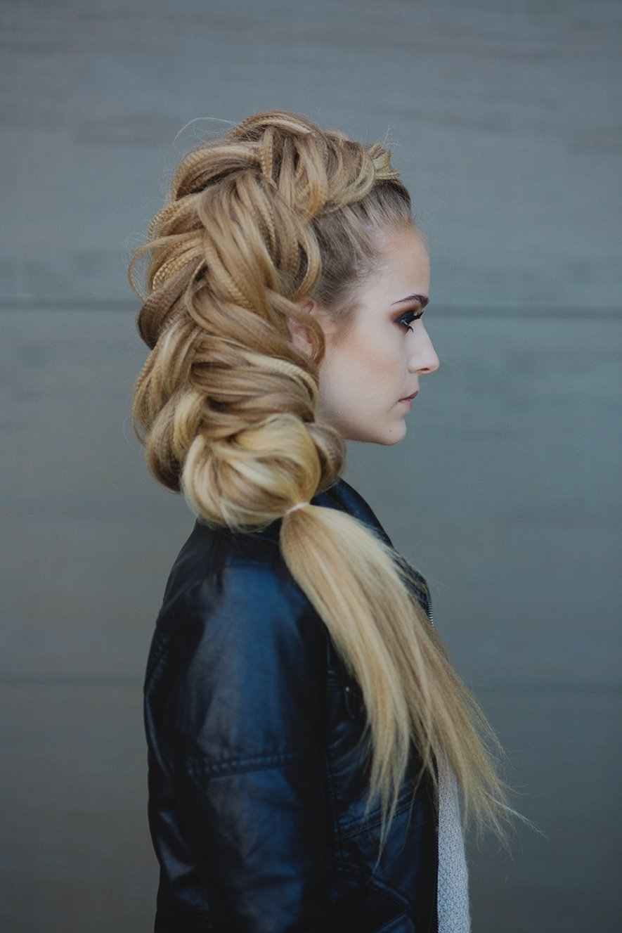 фото косы на длинные волосы 11