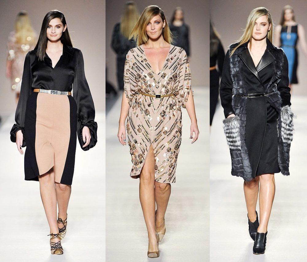 Мода для полных женщин 2018