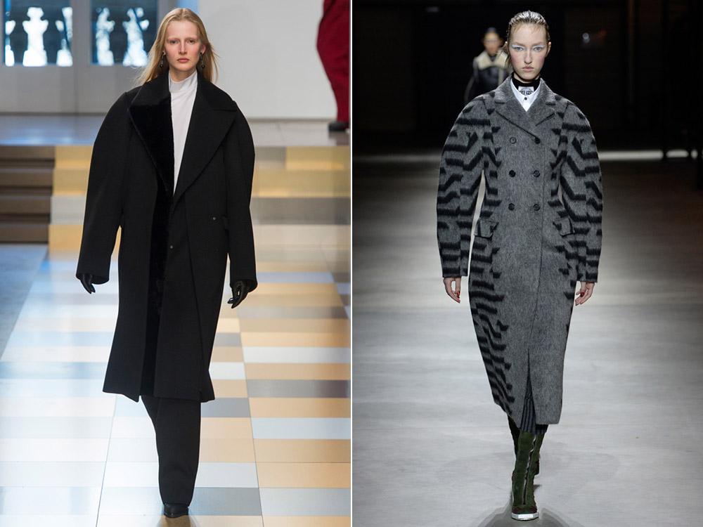 Стиль оверсайз: трендовые пальто