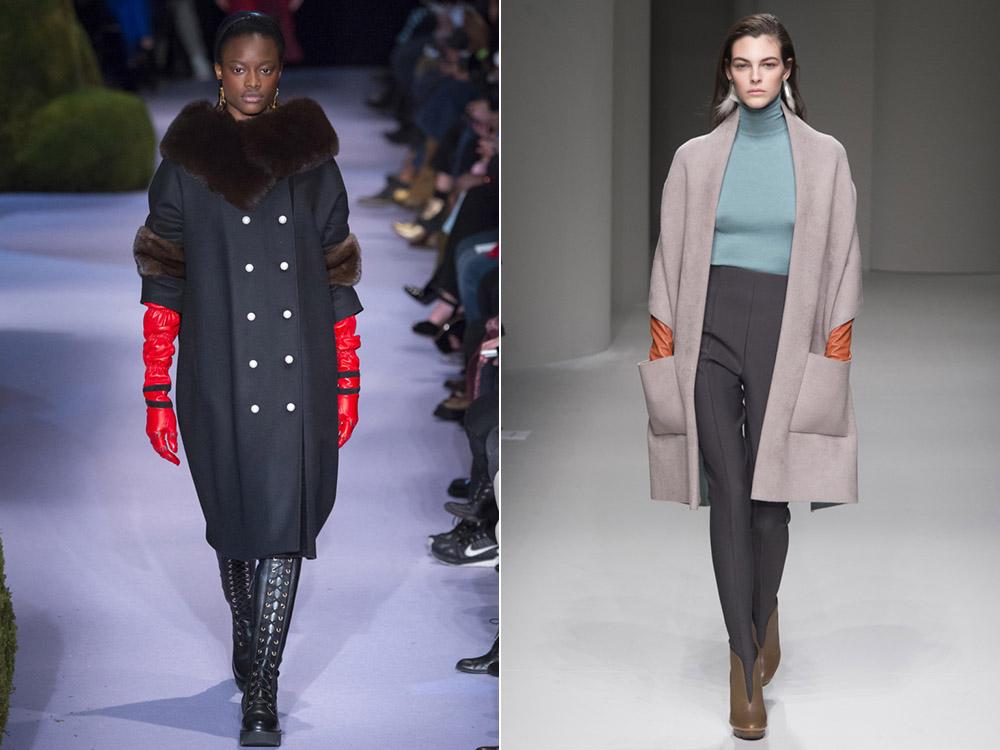 Трендовые модели пальто на осень и зиму