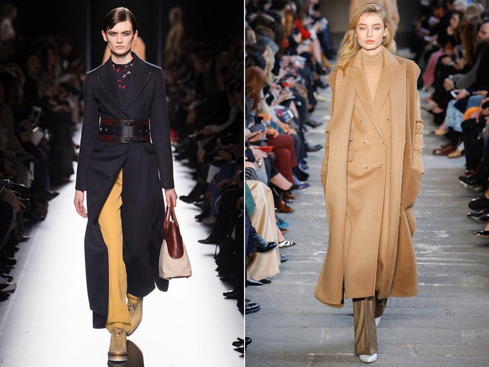 Трендовое пальто осень-зима