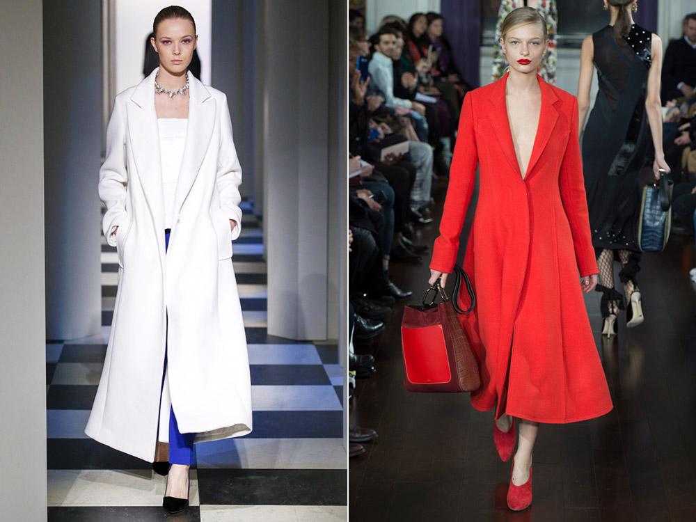 Модные пальто в холодном сезоне