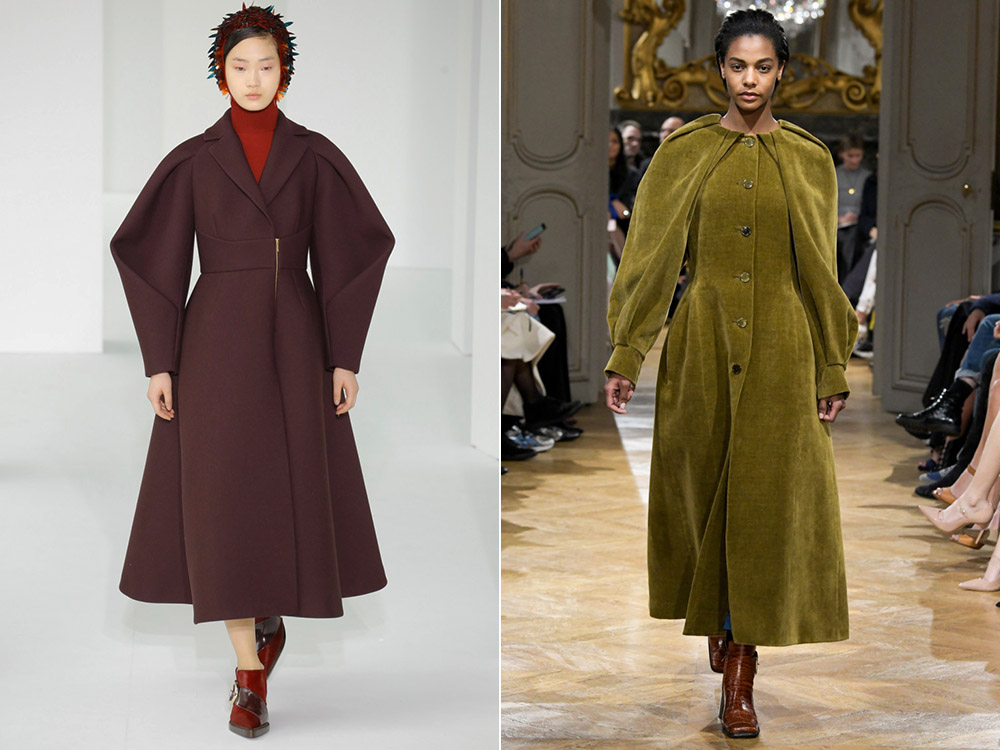 Стильное пальто в удлиненной вариации