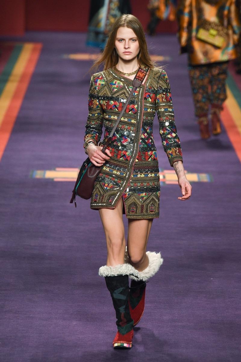 Модный лук осень-зима