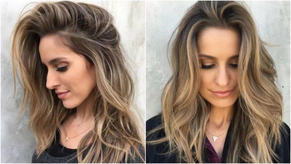 Как сделать окрашивание волос двумя цветами