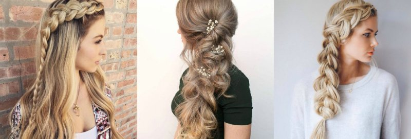 коса на боку