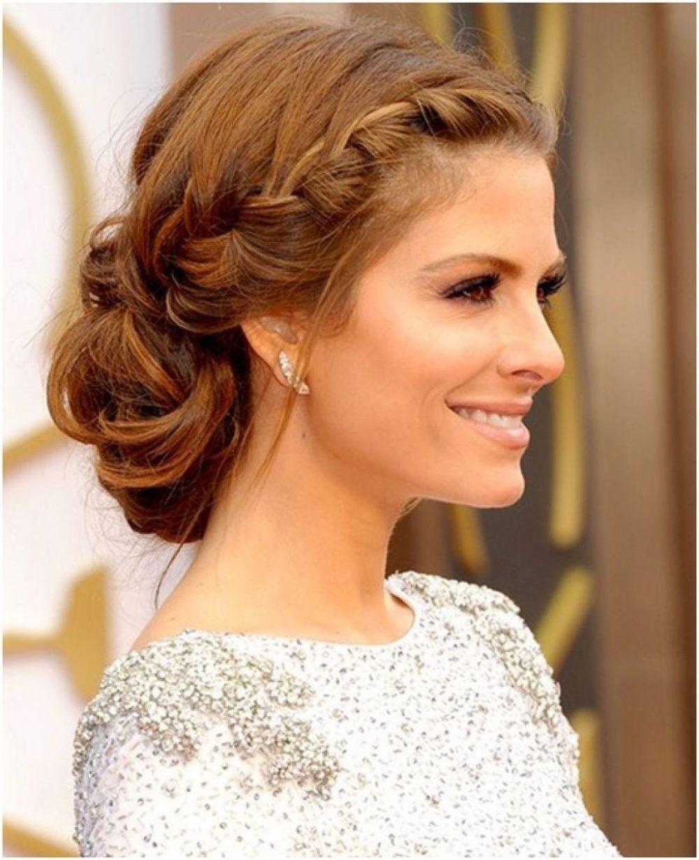 Красивые прически на волосы средней длины