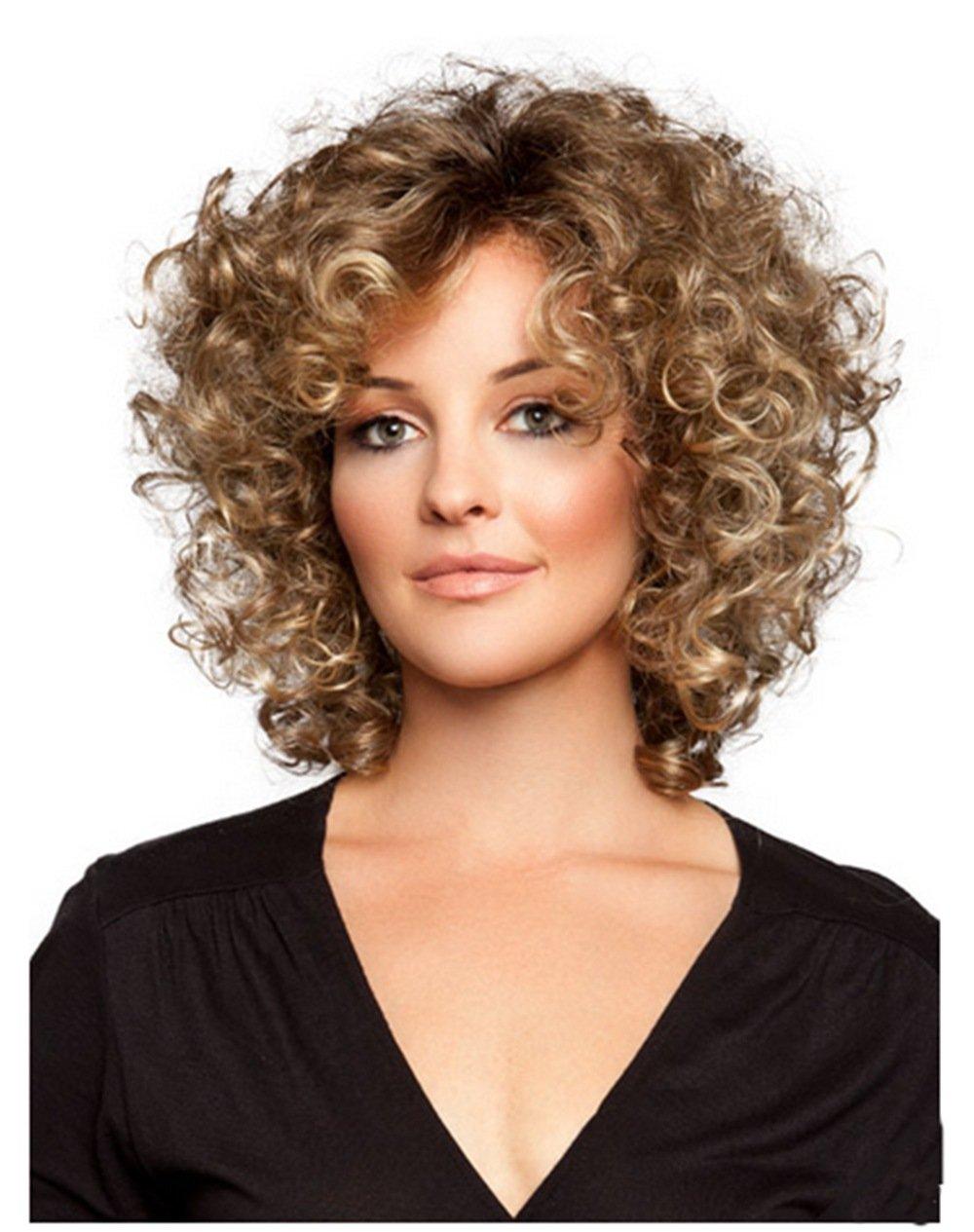 Прически для вьющихся волос причесок
