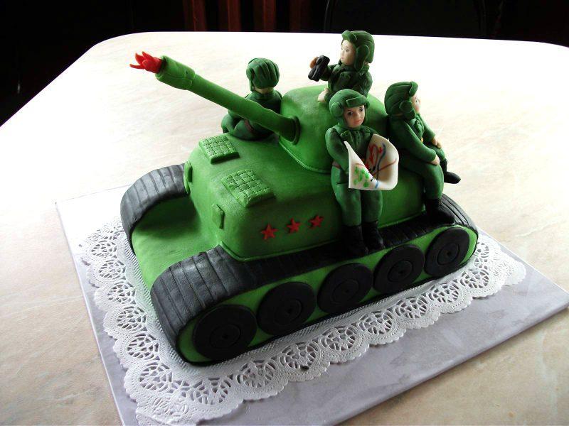 подарки дедушке на 23 февраля торт