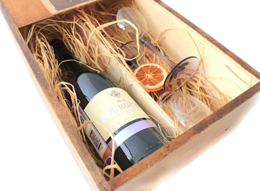подарочный винный набор для начальника