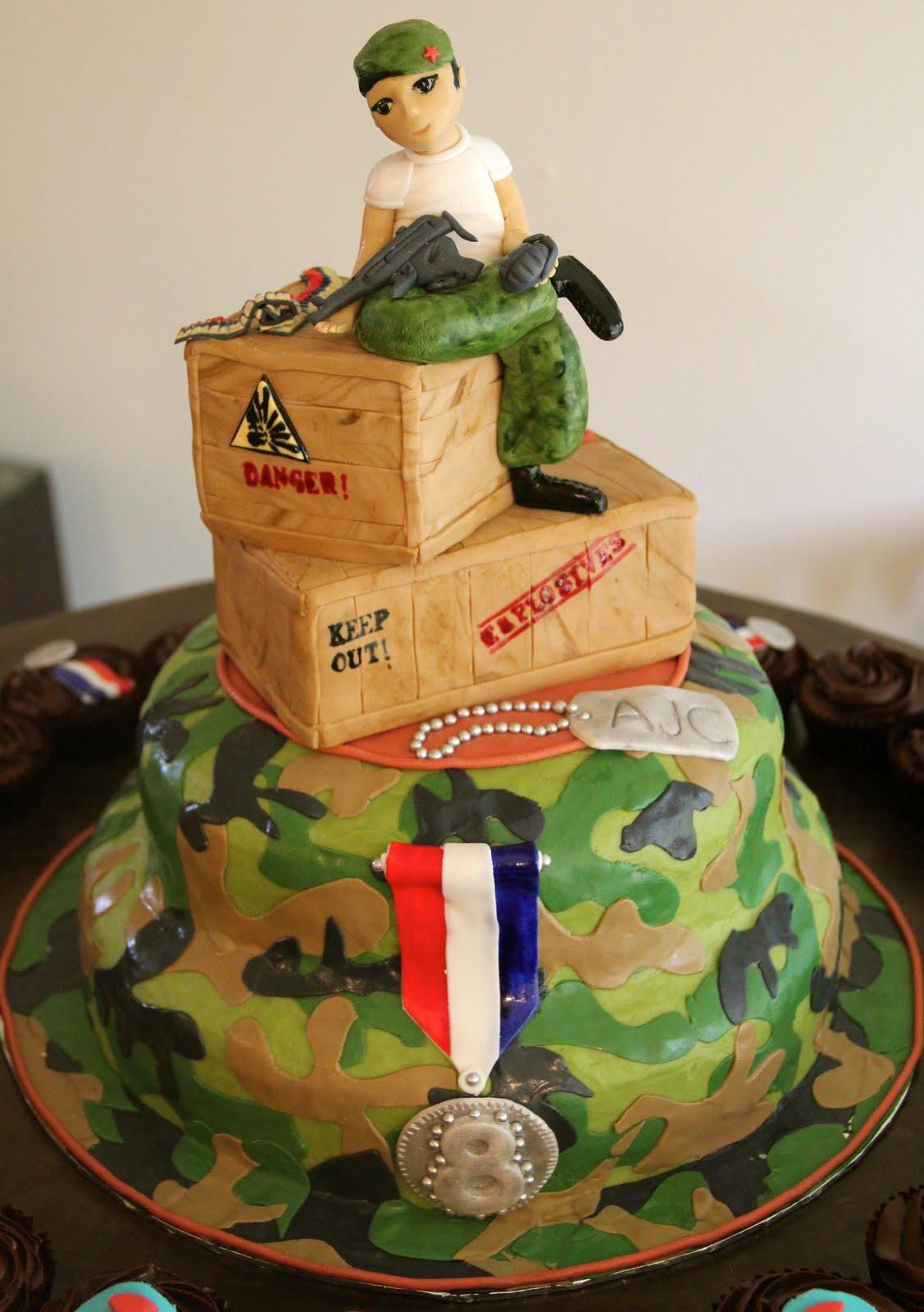 торт для босса на 23 февраля
