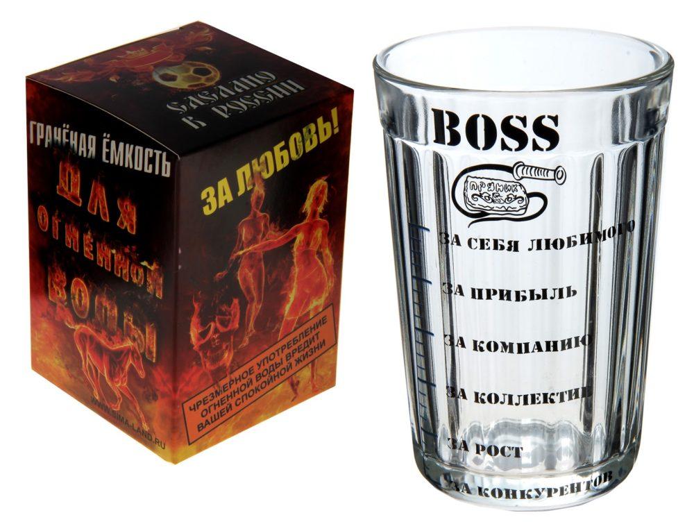 оригинальный стакан для шефа