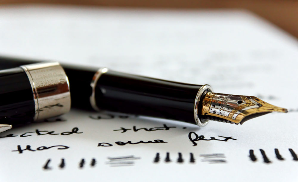 стильная ручка для начальника