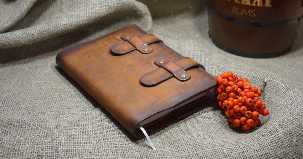 стильный подарок папе - ежедневник