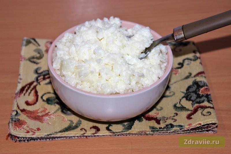 Рецепт: Рисовая каша на молоке в мультиварке