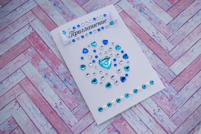 Приглашения на свадьбу своими руками - круг любви