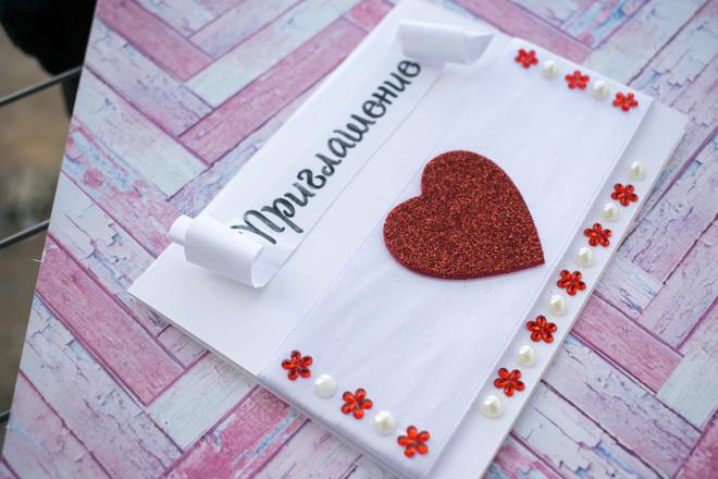 Приглашения на свадьбу своими руками - моя любовь