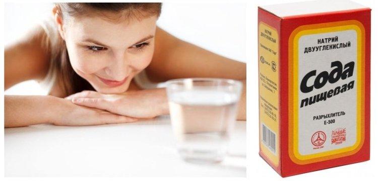 сода для похудения Водный раствор