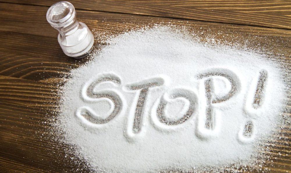 минимальное употребление соли при повышенном АД у гипертоников